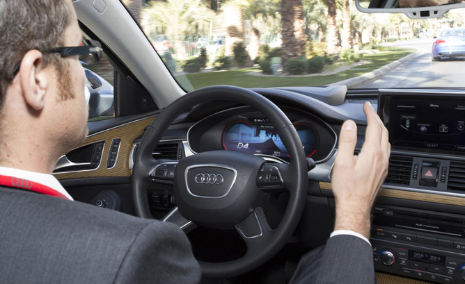 Audi Scores First Automated Vehicle Testing License in New York