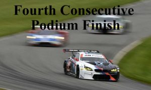 Fourth Consecutive Podium Finish for BMW M6 GTLM