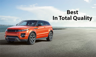 Land Rover Named Best in Total Quality